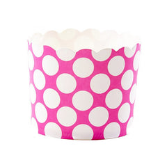 Baking Cups - Magenta Dot