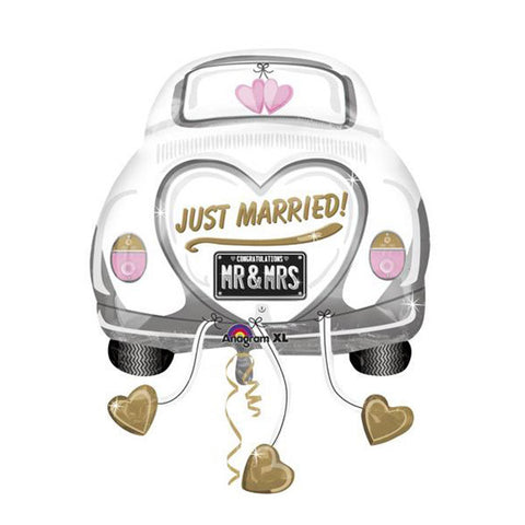Just Married Car Balloon - 31 in