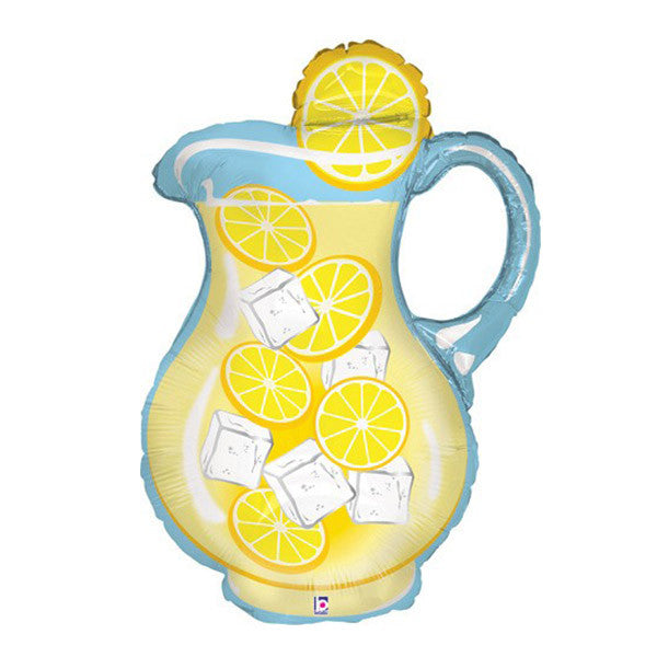 Jumbo Lemonade Pitcher Balloon - 33 inch