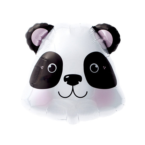 Panda Face Balloon - 14 in