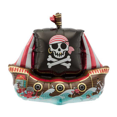 Pirate Ship Balloon - 14 in