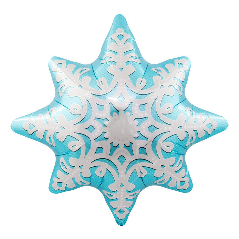 Snowflake Balloon - 24 in