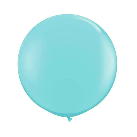Balloons Round 36 in - Caribbean Blue