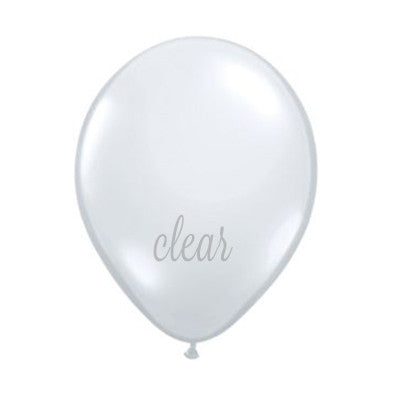 Balloons 11 in - Clear