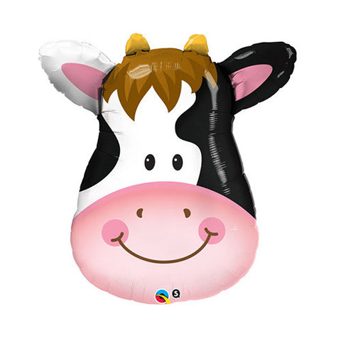 Cow Face Balloon - 32 in