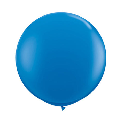 Balloons Round 36 in - Dark Blue