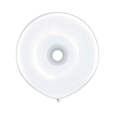 Donut Balloons 16 in - White