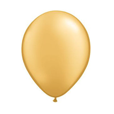Balloons 11 in - Gold