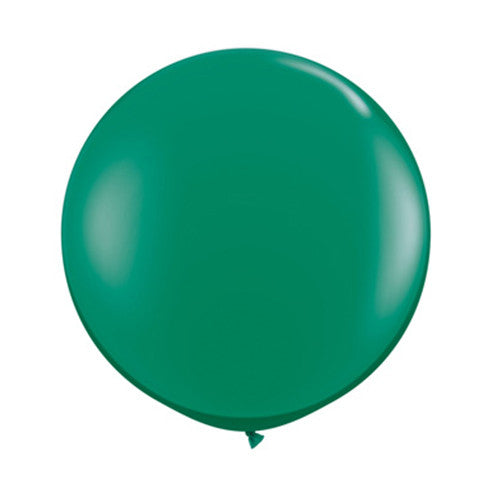 Balloons Round 36 in - Green