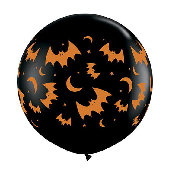 Halloween Moons & Bats Balloon - 36 in