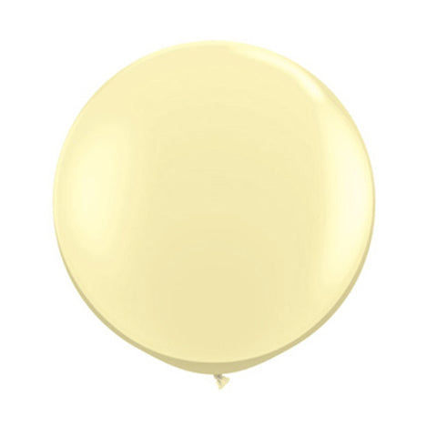 Balloons Round 36 in - Ivory