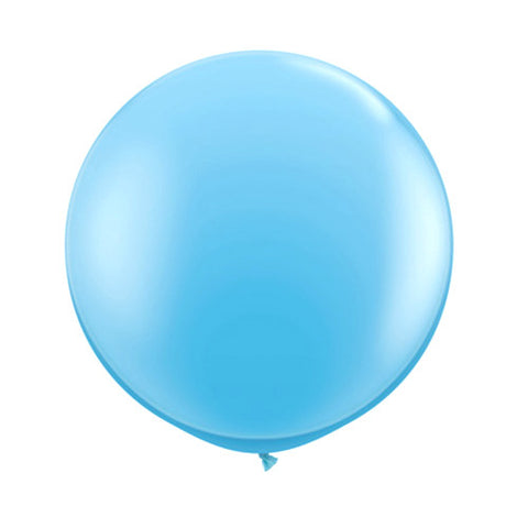 Balloons Round 36 in - Light Blue