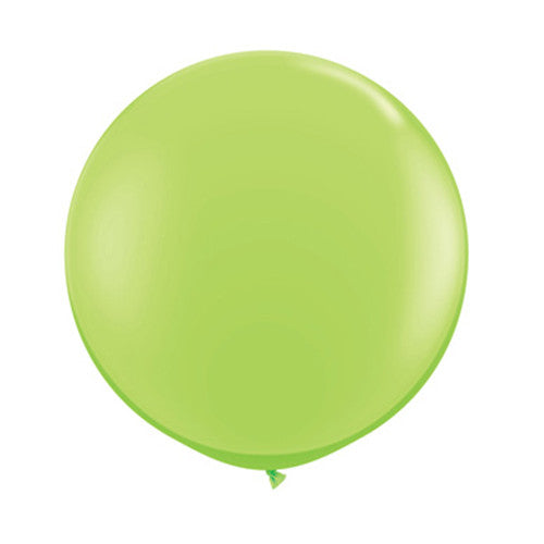 Balloons Round 36 in - Lime Green