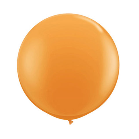 Balloons Round 36 in - Orange