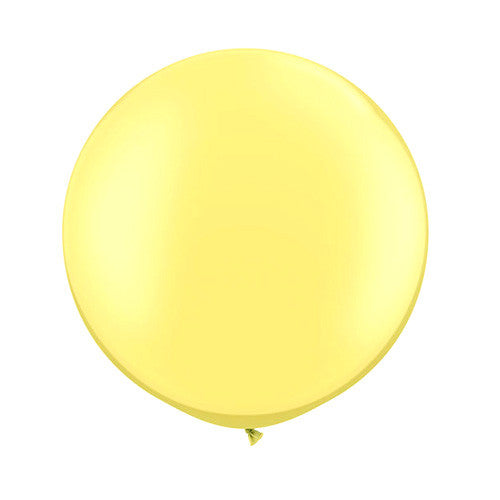 Pearl Balloons 30 in - Yellow