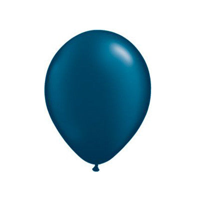 Pearl Balloons 11 in - Midnight Blue