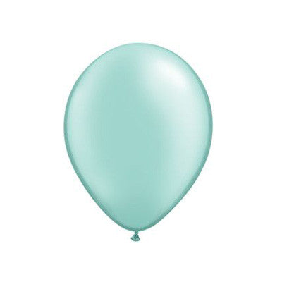 Pearl Balloons 11 in - Mint Green