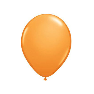 Balloons 11 in - Orange