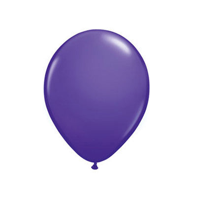 Balloons 11 in - Purple