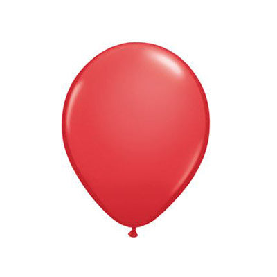 Balloons 11 in - Red