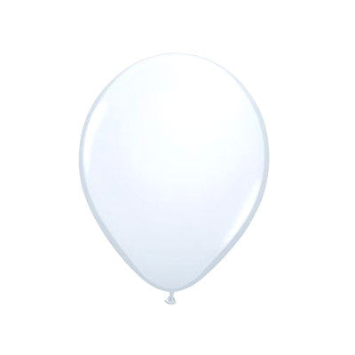 Balloons 11 in - White