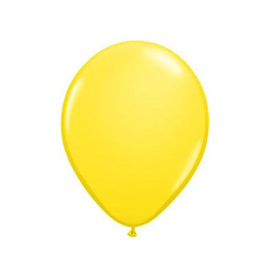 Balloons 11 in - Yellow