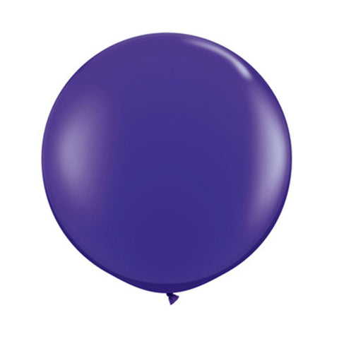 Balloons Round 36 in - Purple