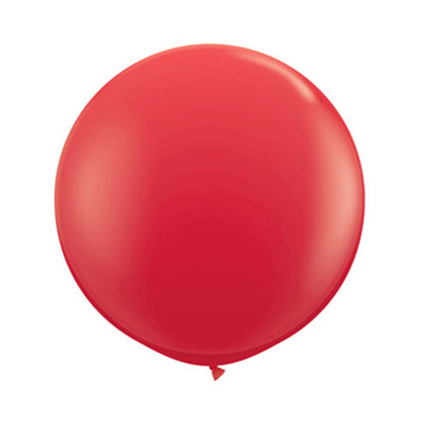 Balloons Round 36 inch - Red