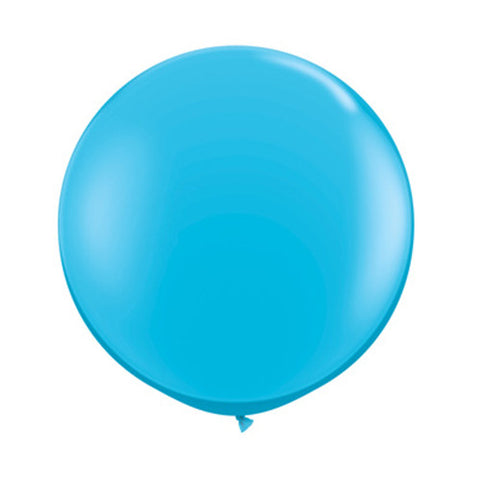 Balloons Round 36 in - Robins Egg Blue