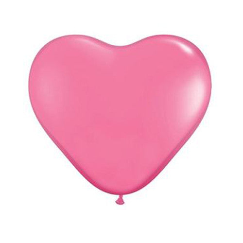 Heart Balloon 36 in - Rose Pink