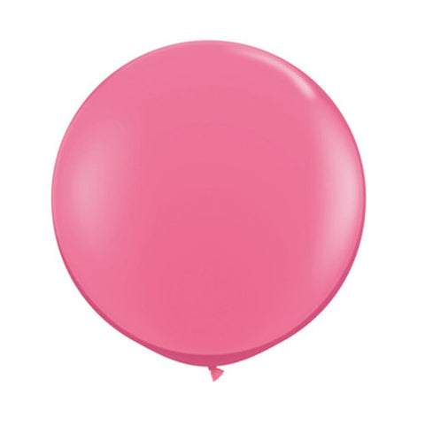 Balloons Round 36 in - Rose Pink