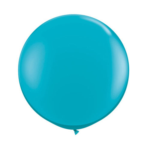 Balloons Round 36 in - Tropical Teal