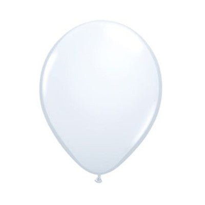Balloons 16 in - White