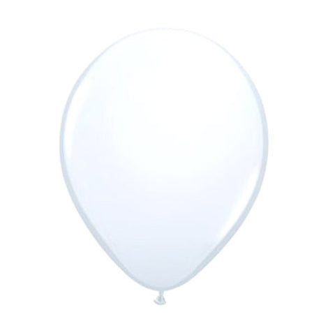 Balloons 24 in - White