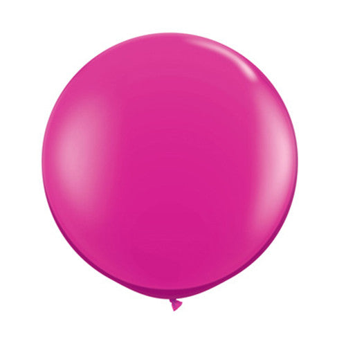 Balloons Round 36 in - Wildberry