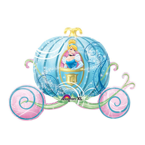 Jumbo Cinderella Carriage Balloon - 33 in