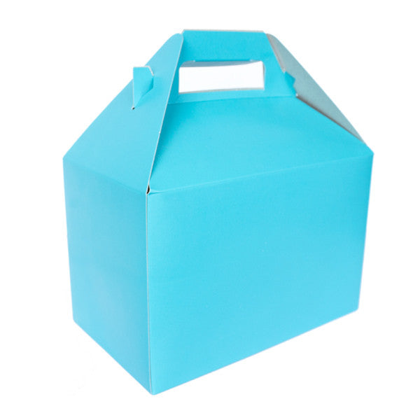 Favor Box - Turquoise (8x5x5)