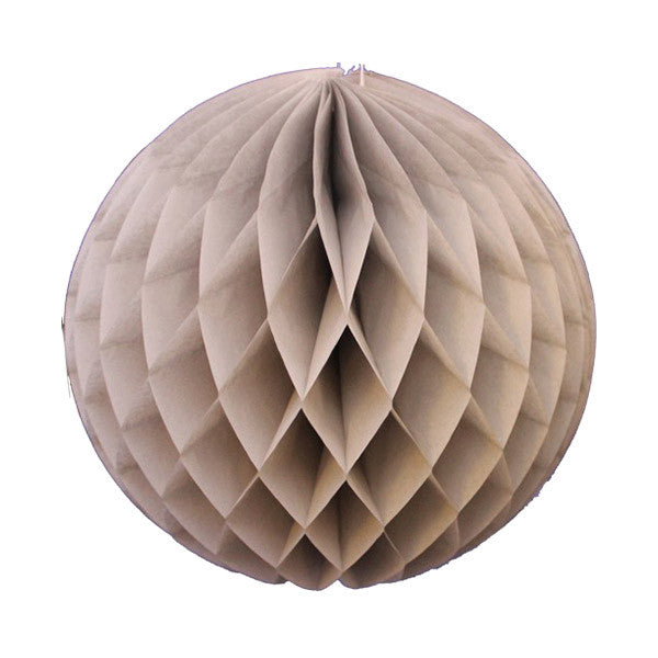 Honeycomb Tissue Ball - Gray