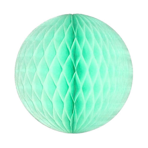 Honeycomb Tissue Ball - Mint Green