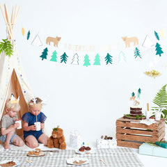 Let's Explore Camping Garland Kit - Little Explorer