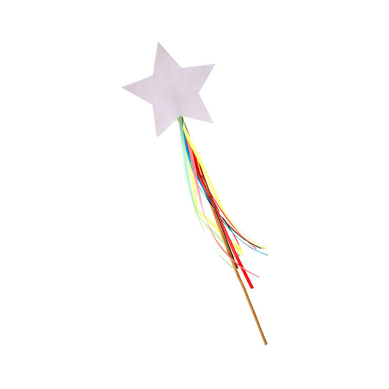 Rainbow Unicorn Party Sparkly Wands
