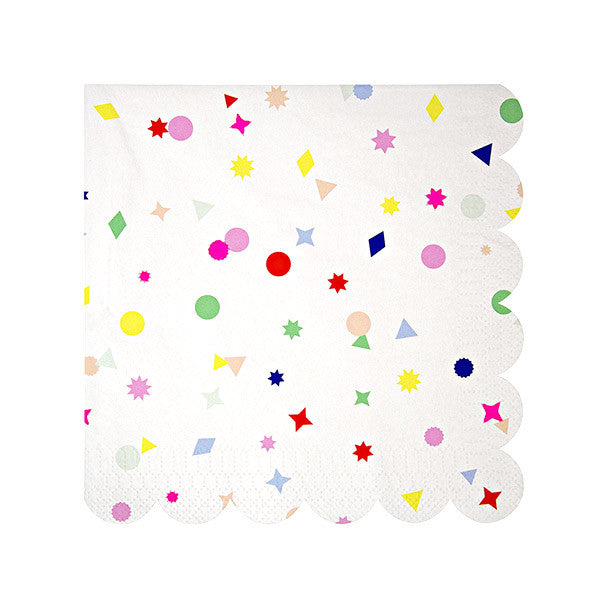 Confetti Charms Party Napkins