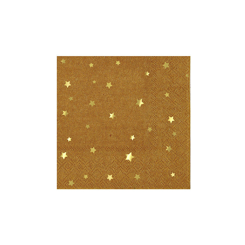 Meri Meri Kraft Star Paper Party Napkins