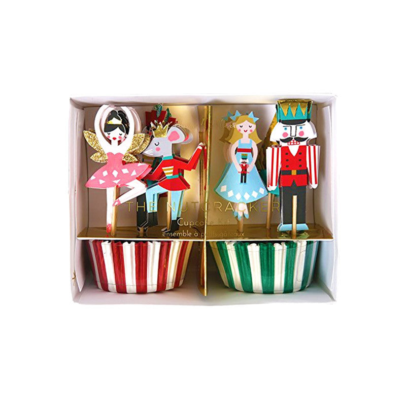 Meri Meri Nutcracker Ballet Cupcake Baking Kit