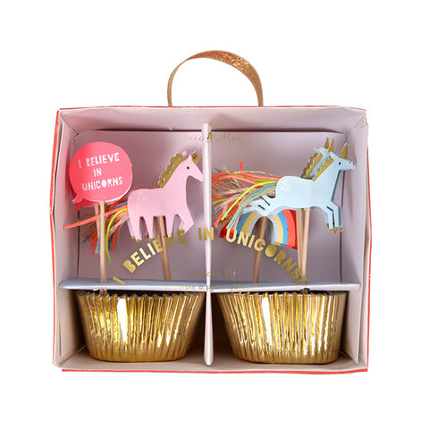 Rainbow & Unicorn Cupcake Kit