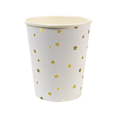 Gold Stars Party Cups