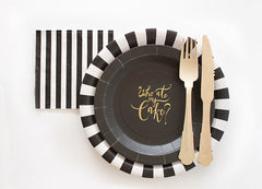 Chalk It Up Fun Chalkboard Cake Plates (Pack of 12)