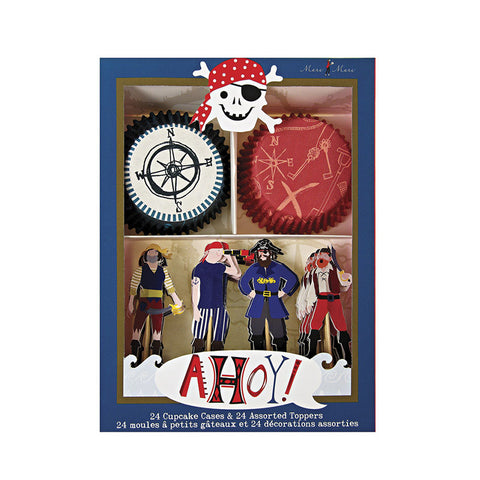 Pirate Party Cupcake Kit (Clearance)