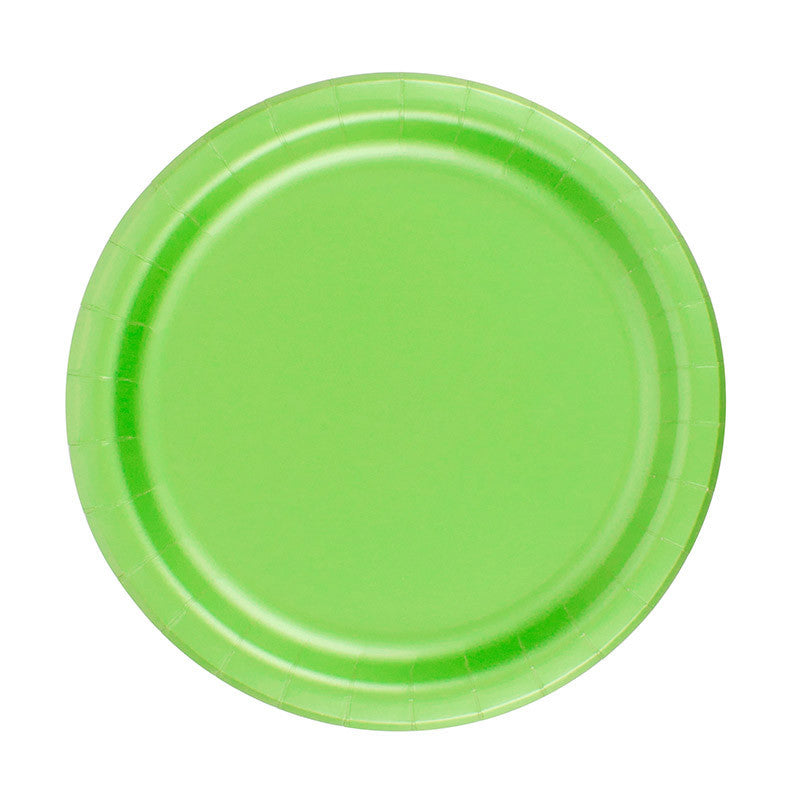 Plates - Lime Green (CLEARANCE)