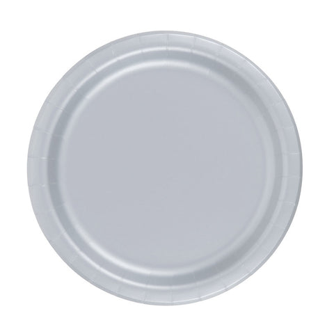 Plates - Silver (CLEARANCE)